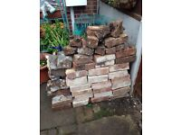 Free bricks hardcore rubble stones
