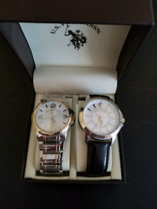 U.S. Polo watch set