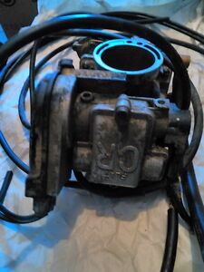 HONDA CRF450R 2007 CARBURATOR AND THROTTLE CABLES Windsor Region Ontario image 2