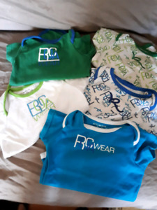 Roca wear shirts. 3-6 month