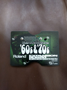 Roland sr-jv80-08 Expansion Board Keyboards of the 60s & 70s