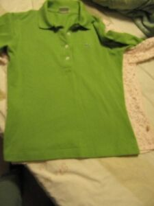 Lady's lacoste long sleeve T shirt,