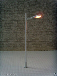 L043-10pcs-12V-Scale-Train-Scenery-Layout-Model-Lamp-Post-HO-N