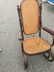 Antique Thonet Rocking Chair ( Early1900's)