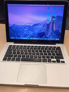 "Mac book pro 13"" for sale (NEGOTIABLE)"