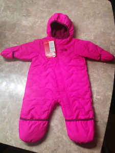 Brand New North Face Snowsuit- 3 to 6 Months