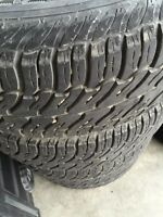 235/70R16 tires on Ford Escape rims