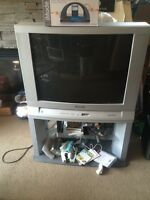 Free tube tv with stand