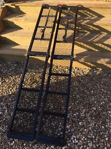 750 lbs loading ramp with strap