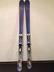 Nordica Supercharger Ignition 170cm Skis. Marker Squire Bindings