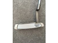 Odyssey white hot #1 putter. Excellent condition. Includes headcover
