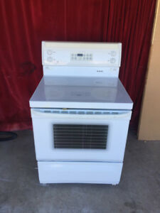 Ge smooth glass top stove for sale