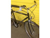 Raleigh chiltern traditional gents men's town city touring bike bicycle Sutton London sm3