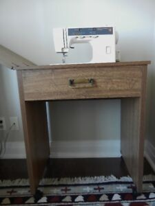 Sewing Machine with Table in Excellent Condition