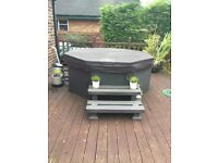 Canadian Spa Co Muskoka Plug&Play Portable 6 Person Hot Tub