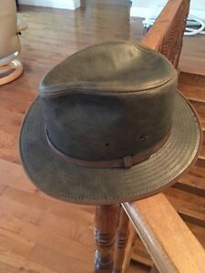 Hat, Leather