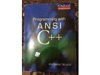 Programming with ANSI C++ [Book]