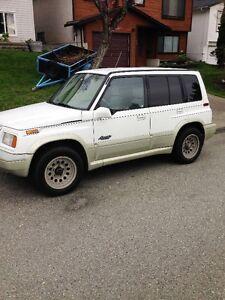 1998 Suzuki Sidekick 4x4