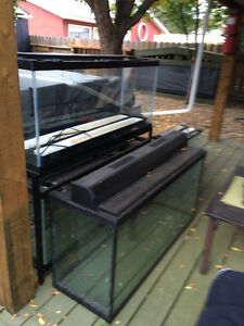 FISH TANKS AND TONS OF ACCESSORIES