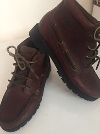 Womans timberland hiker boots