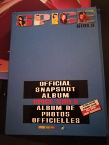 Spice girls official snapshot album with 38 pics(second edition)