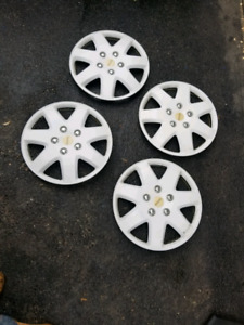 "16"" Michelin hubcaps"