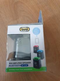 Trevi XP 72 BT Mini Portable Amplified Bluetooth Speaker blue