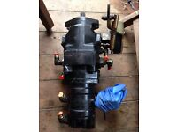 Hydraulic pump for mini digger tractor or other machinery