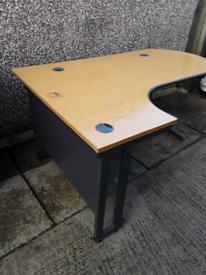 Large corner desk table bench fo office or garage