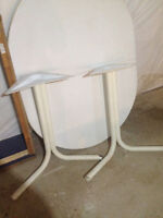 table blanche oval