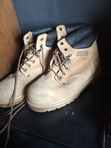 2 safety shoes sizes 8.5, 10 - STILL AVAILABLE