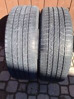 Two 235/55/R18 AllSeason Michelin Latitude Tour -Lots-TreadLeft