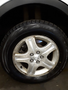 P215/65R 16 Winter Tires and Rims