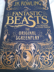 Fantastic Beast The Original Screenplay Book