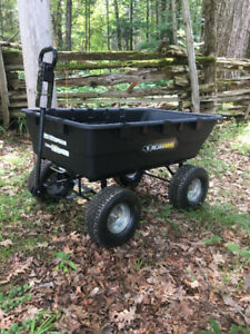 Gorilla Cart 1500 lbs - Towable Dump Cart (Coboconk)