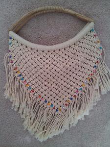 NEW Fringed Macrame Bag London Ontario image 1