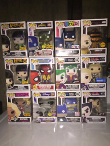 Funko Pop Collection of Exclusives