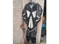 Richa One Piece Leather Suit. Large/Xl. Size 56. Uk 46. Motorbike Leathers. Not Rst Alpine Stars