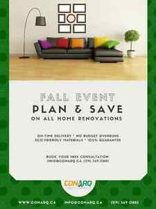Plan & Save On All Home Renovations. Call Us (519) 569-0883 Kitchener / Waterloo Kitchener Area image 1