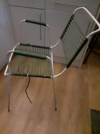 1950s garden chair