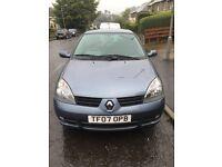 Low Mileage Car 2007 Renault Clio Campus Sport I Music