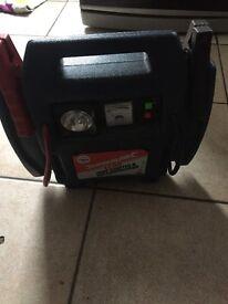 Silver line jumpstart & air compressor