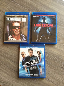 terminator ,jack ryan and daredevil