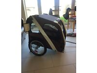 Leopet dog bike trailer