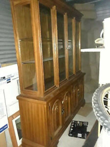 Dining Table & Hutch Priced to Sell