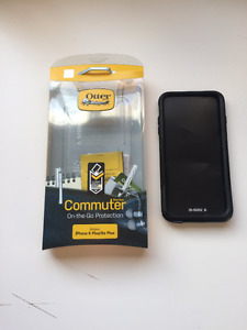Black Iphone 6S/Plus Commuter Otterbox Case - Never Used