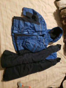 Boys snow suits. 4T and 5