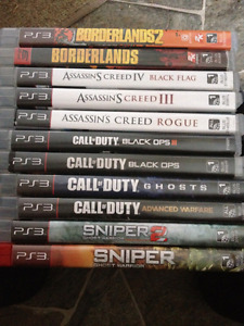 Ps3 10$ games each