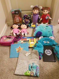 HUGE MONSTERS INC/UNIVERSITY LOT!! NEW!!! CHEAP!!!