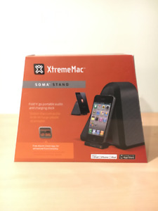 XtremeMac Soma Portable Speaker and Charging Dock BNIB